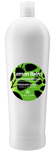 Kallos Lemon Balm Shampoo 1000ml