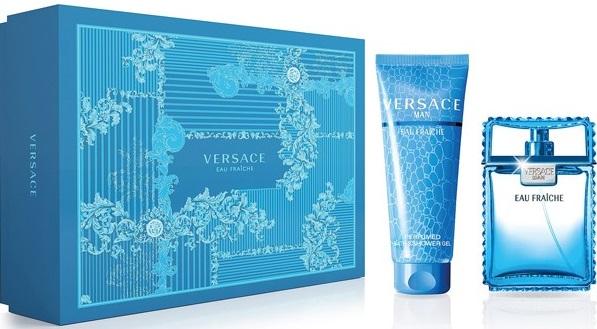 Versace Man Eau Fraiche M EDT 100ml + SG 150ml