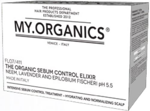 MY.ORGANICS The Organic Skin Elixir Hyaluronic Acid 12 Vials