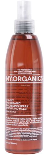 MY.ORGANICS The Organic Thickening Spray Apricot And Millet 250ml