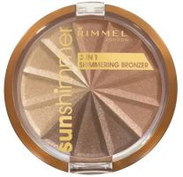 Rimmel London Sun Shimmer 3in1 Shimering Bronzer