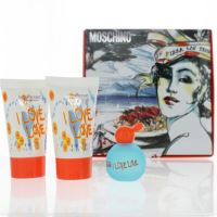 Moschino I Love Love EDT 4,9ml + BL 25ml + SG 25ml SET mini