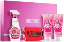 Moschino Fresh Couture Pink W EDT 100ml + SG 100ml + BL 100ml + key pouch