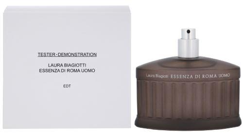 Laura Biagiotti Essenza di Roma Uomo toaletní voda 125 ml Pro muže TESTER