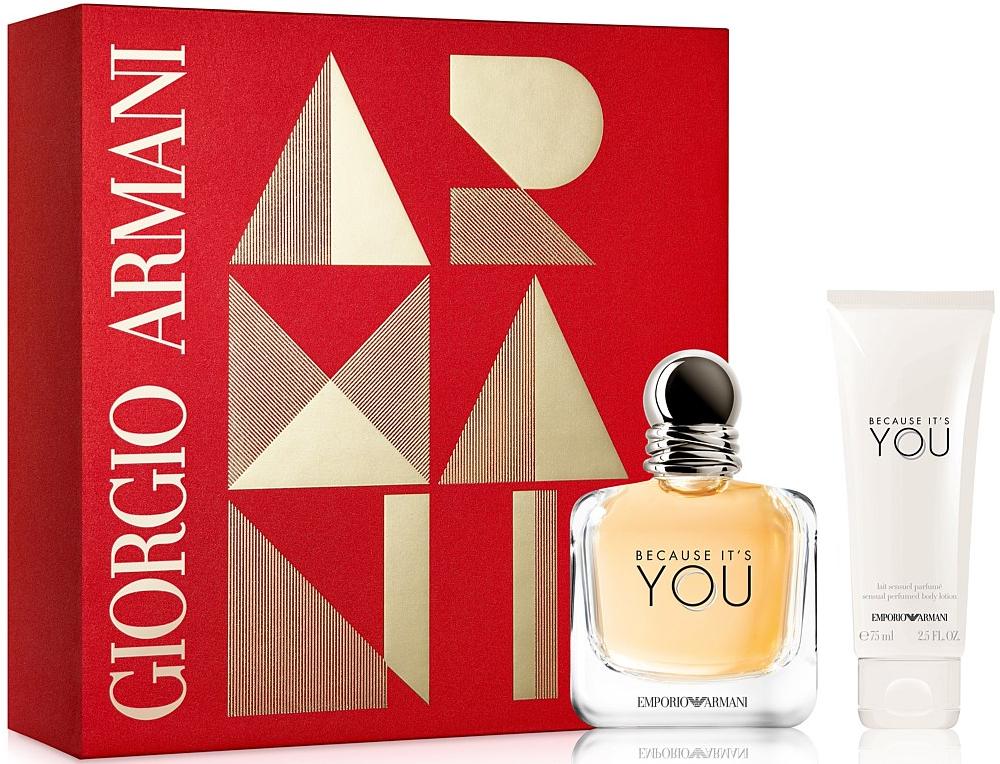 Giorgio Armani Emporio Armani Because It's You W EDP 30ml + BL 75ml