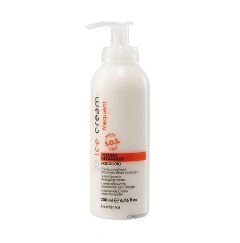 Inebrya FREQUENT Instant Detangler bezoplachový krém na vlasy 200 ml