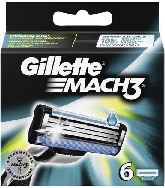 Gillette Mach 3 6ks
