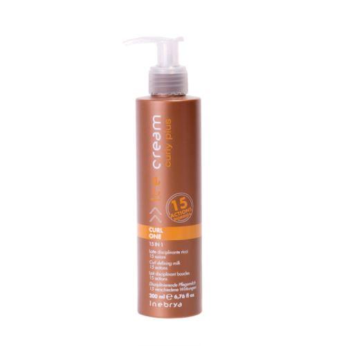 Inebrya CURLY PLUS Curl One péče pro kudrnaté vlasy 15v1 200 ml