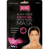 Xpel Body Care Black Tissue Charcoal Detox Facial Mask 28ml